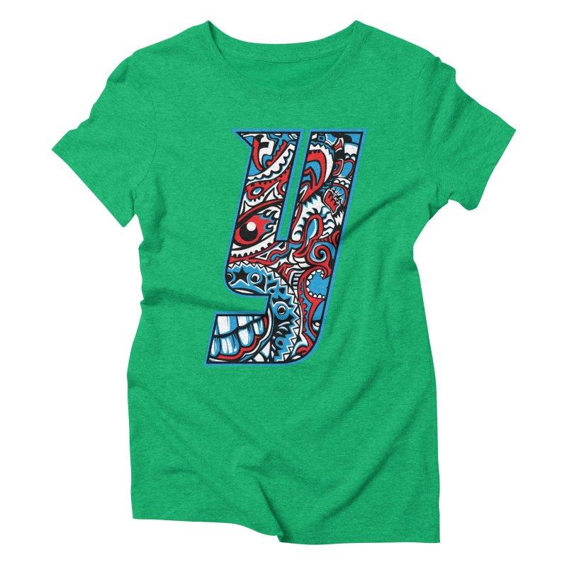 IFC_Crazy_Y_A Women's Triblend T-Shirt by Art of YakyArtist Shop