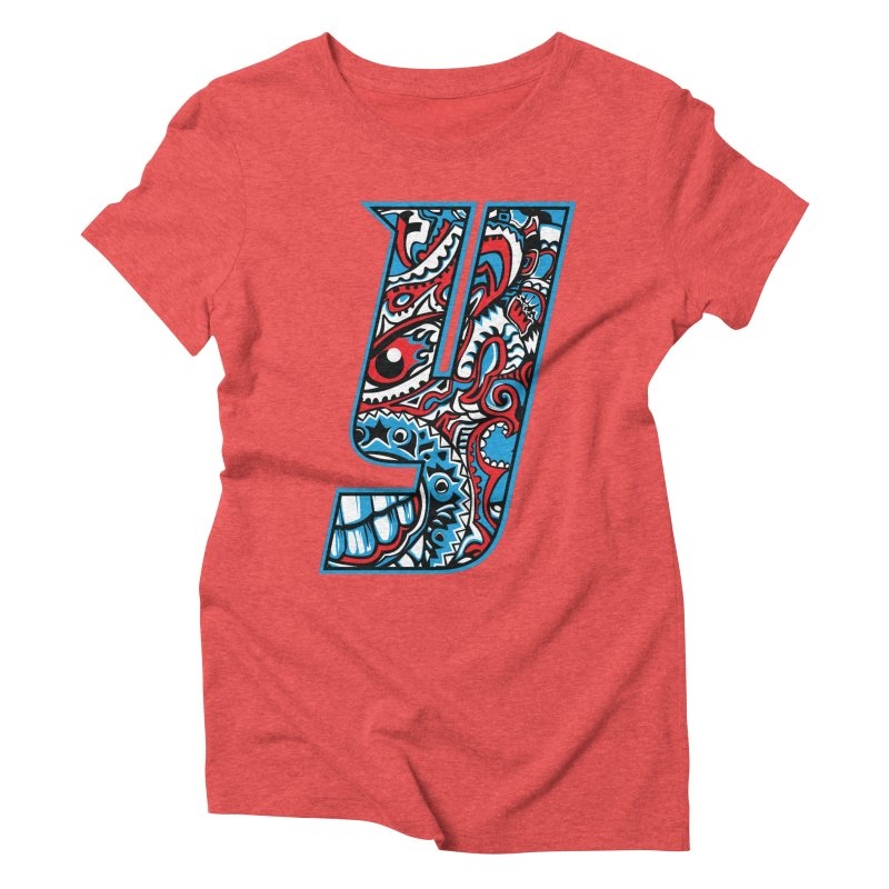 IFC_Crazy_Y_A Women's Triblend T-Shirt by Art of YakyArtist Shop