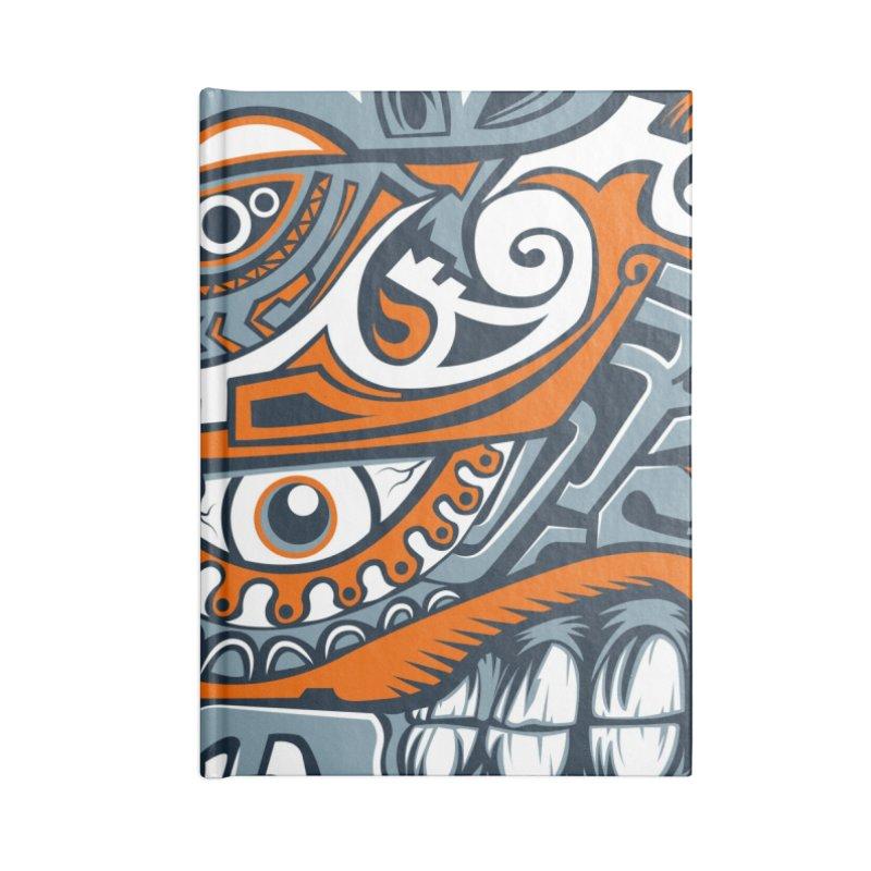 IFC_Crazy_Y_B Accessories Notebook by Art of YakyArtist Shop