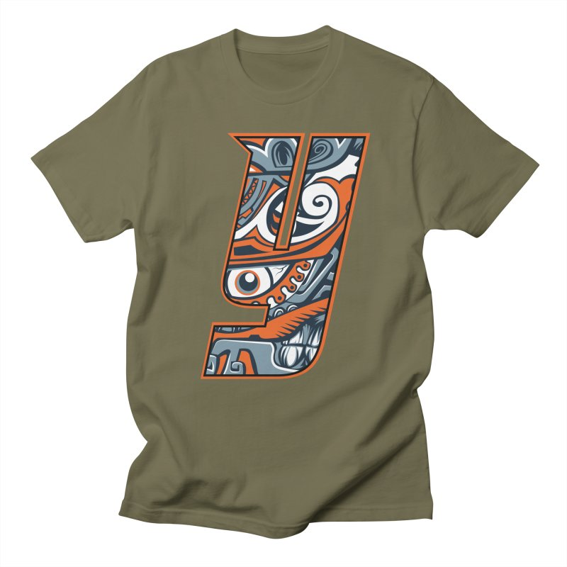 IFC_Crazy_Y_B Men's T-Shirt by Art of YakyArtist Shop