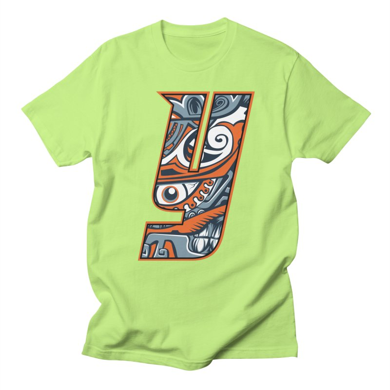 IFC_Crazy_Y_B Men's Regular T-Shirt by Art of YakyArtist Shop