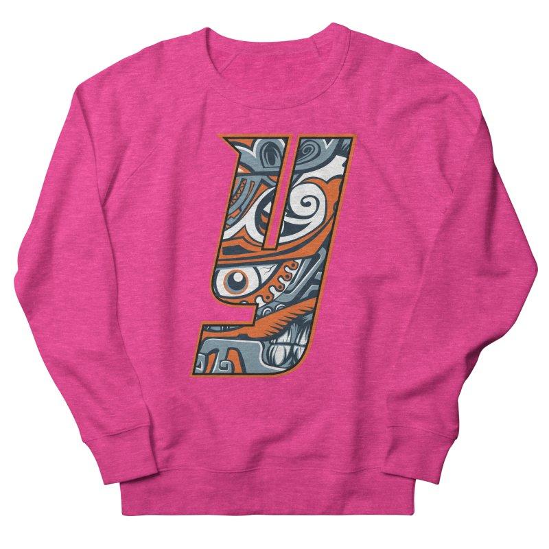 IFC_Crazy_Y_B Men's French Terry Sweatshirt by Art of YakyArtist Shop