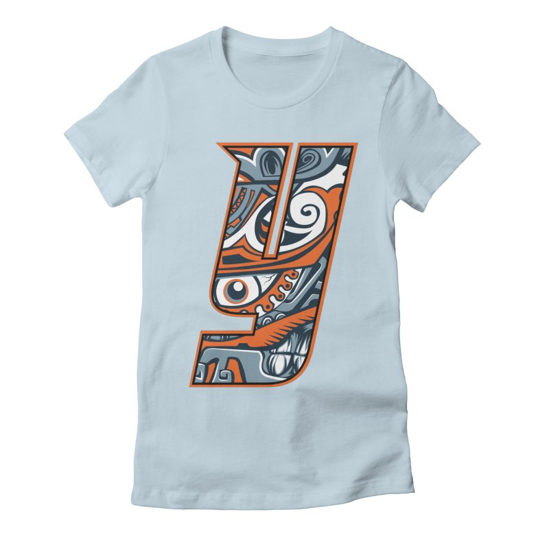 IFC_Crazy_Y_B Women's Fitted T-Shirt by Art of YakyArtist Shop