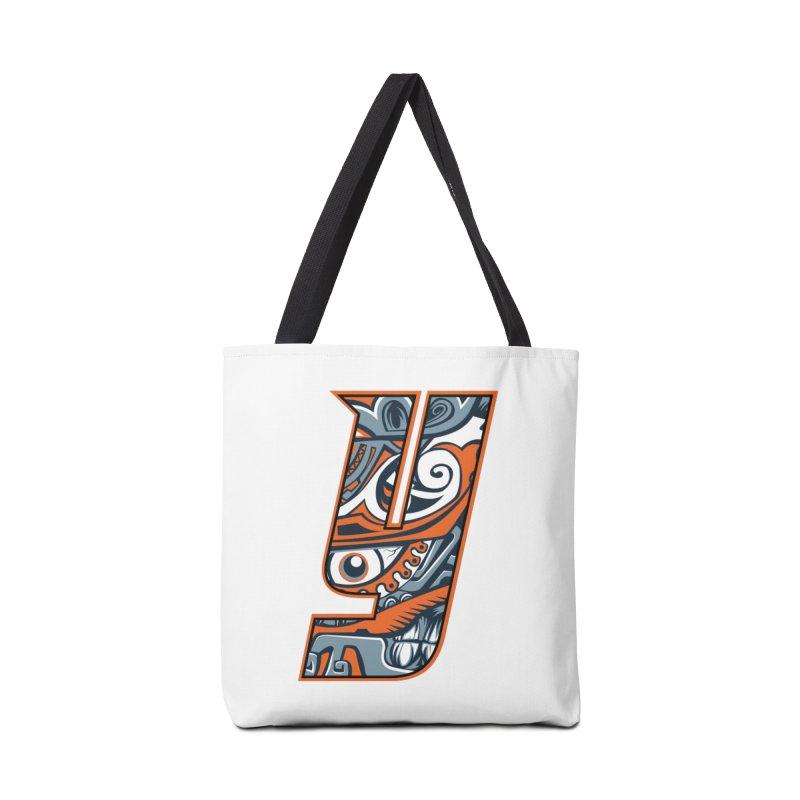 IFC_Crazy_Y_B Accessories Bag by Art of YakyArtist Shop