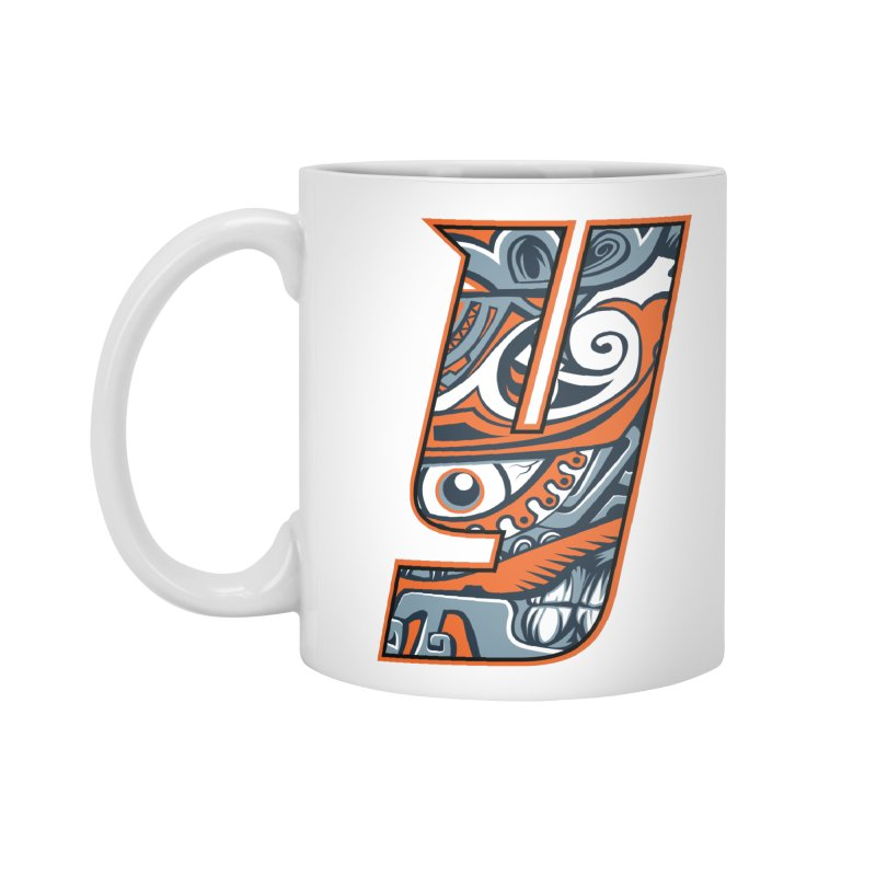 IFC_Crazy_Y_B Accessories Mug by Art of YakyArtist Shop