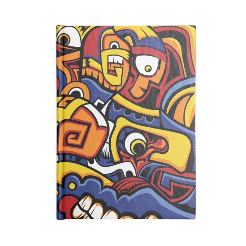 IFC_Crazy_Y_C02 Accessories Notebook by Art of YakyArtist Shop