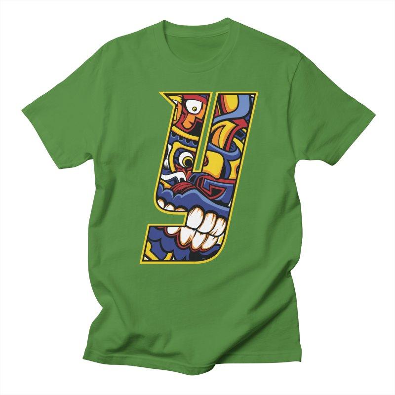 IFC_Crazy_Y_C02 Men's T-Shirt by Art of YakyArtist Shop