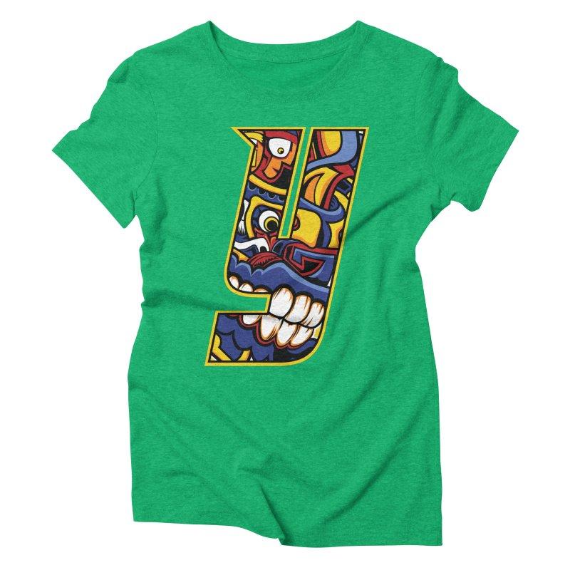 IFC_Crazy_Y_C02 Women's Triblend T-Shirt by Art of YakyArtist Shop