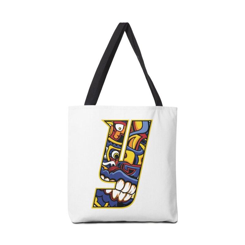 IFC_Crazy_Y_C02 Accessories Bag by Art of YakyArtist Shop