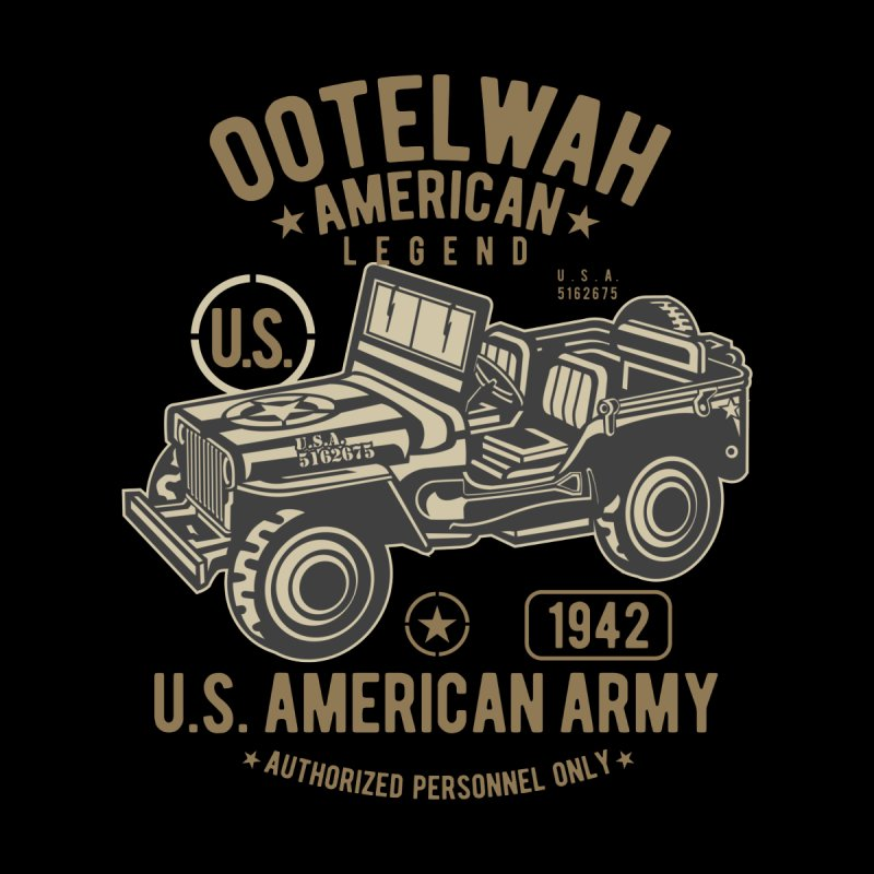 American Army Jeep by Southern Creative