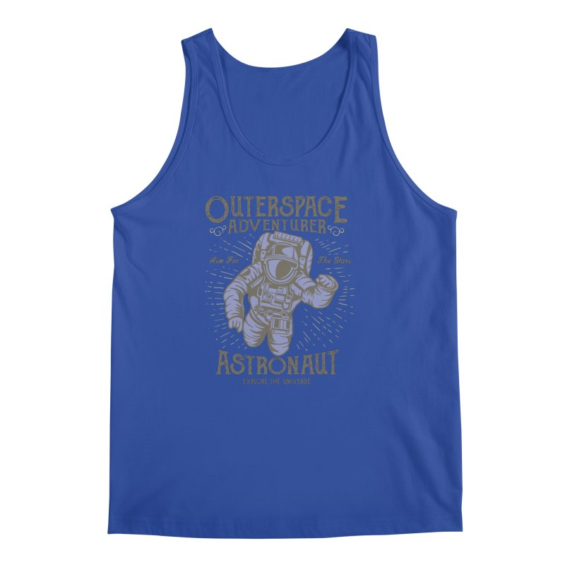 Astronaut Men's Regular Tank by Southern Creative
