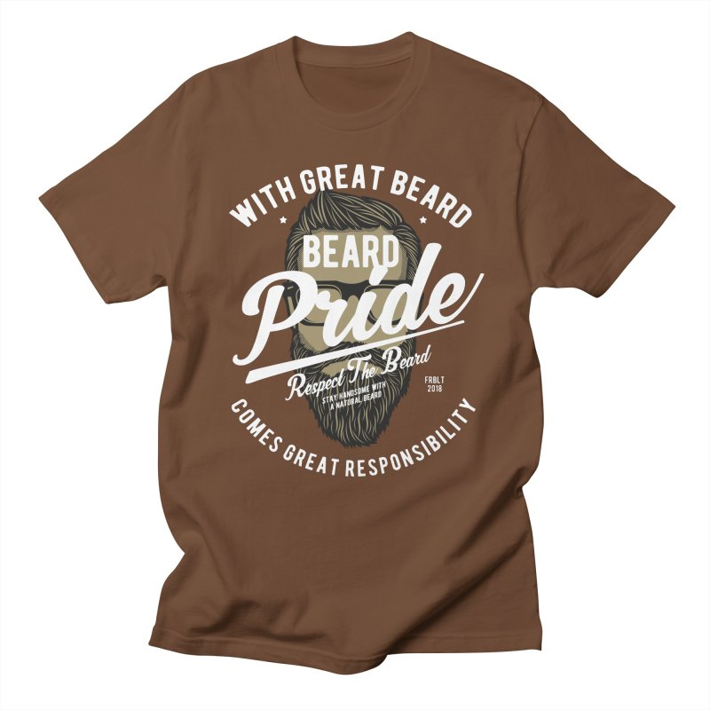 Beard Pride Men's T-Shirt by Southern Creative