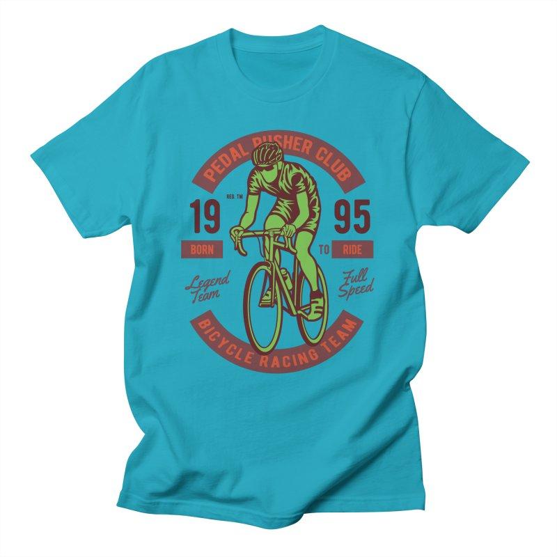 Bicycle Racing Team Men's Regular T-Shirt by Southern Creative