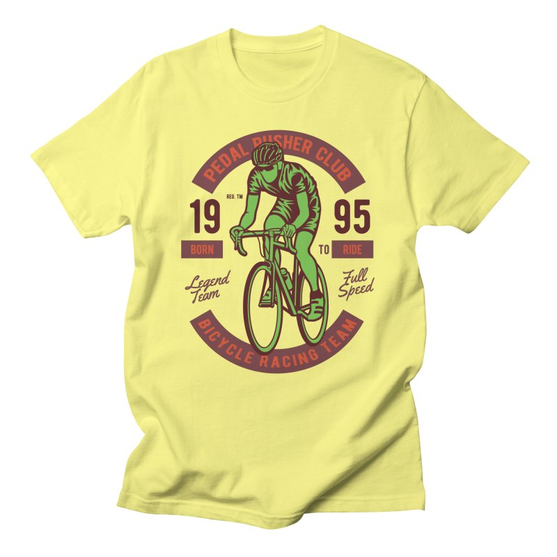 Bicycle Racing Team Men's Regular T-Shirt by Southern Creative