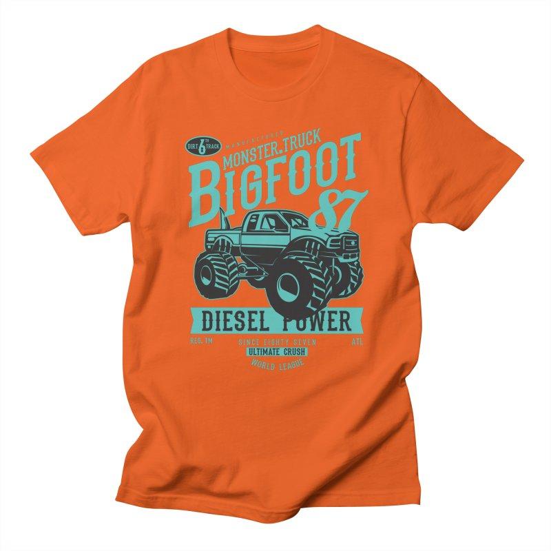 Bigfoot Men's T-Shirt by Southern Creative
