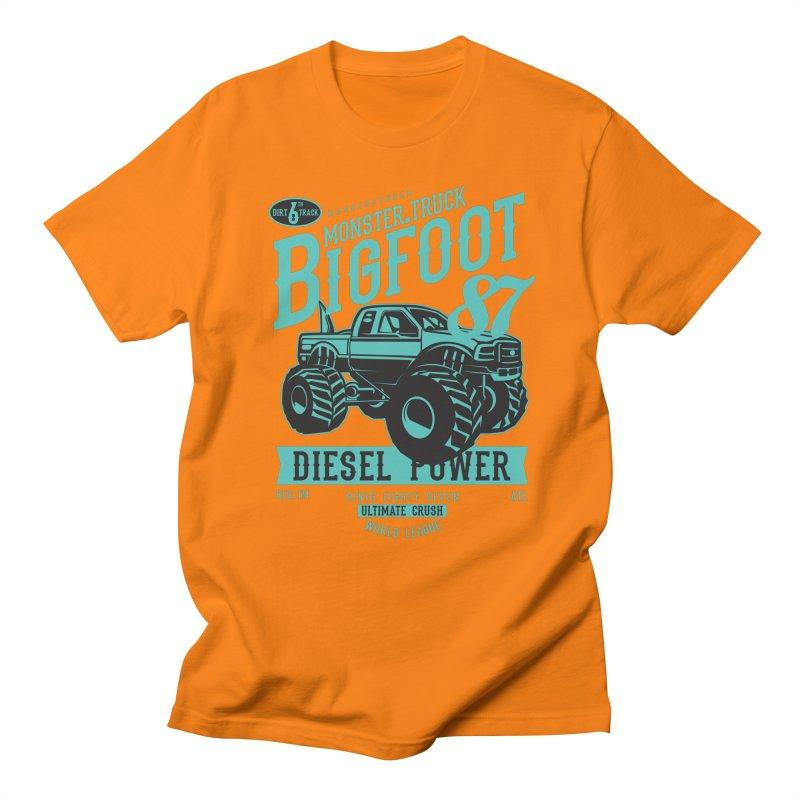 Bigfoot Men's Regular T-Shirt by Southern Creative