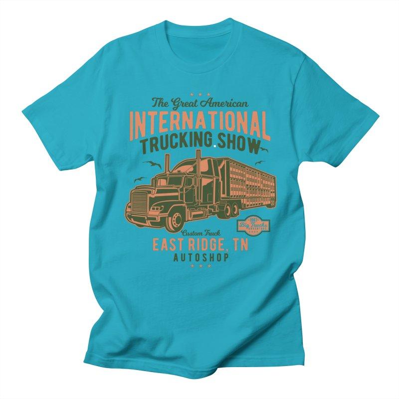 Big Truck 1 Men's T-Shirt by Southern Creative