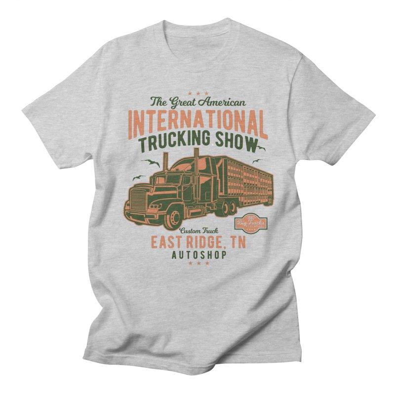 Big Truck 1 Men's Regular T-Shirt by Southern Creative