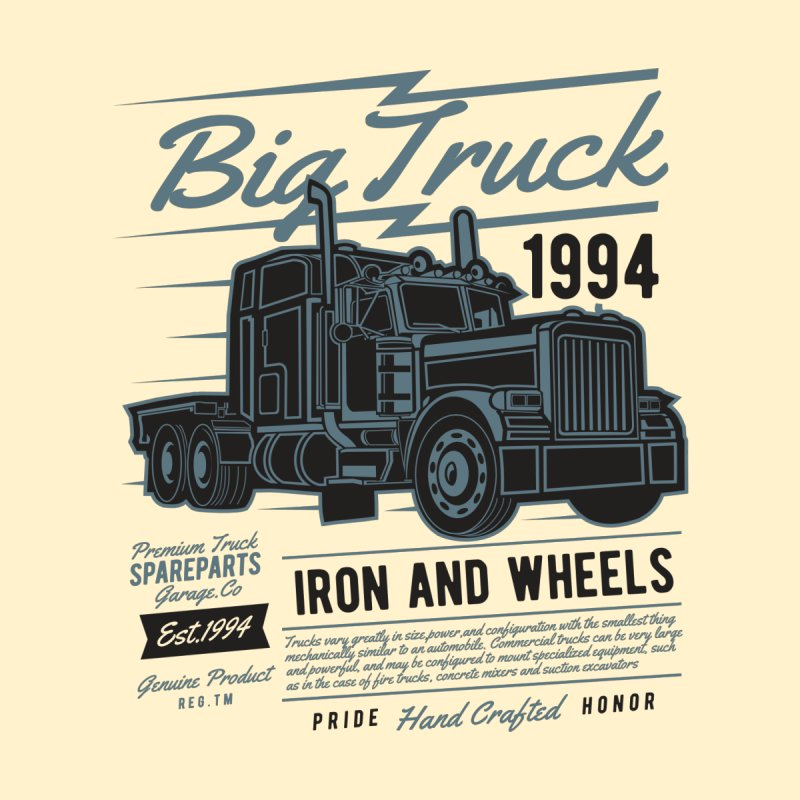 Big Truck 2 None  by Southern Creative