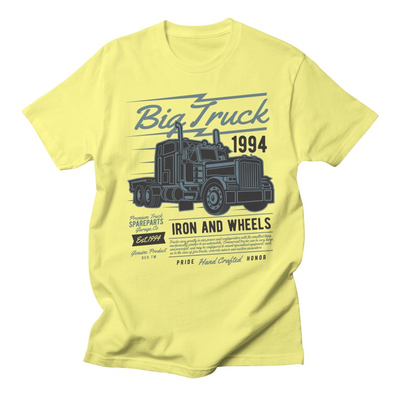 Big Truck 2 Men's Regular T-Shirt by Southern Creative