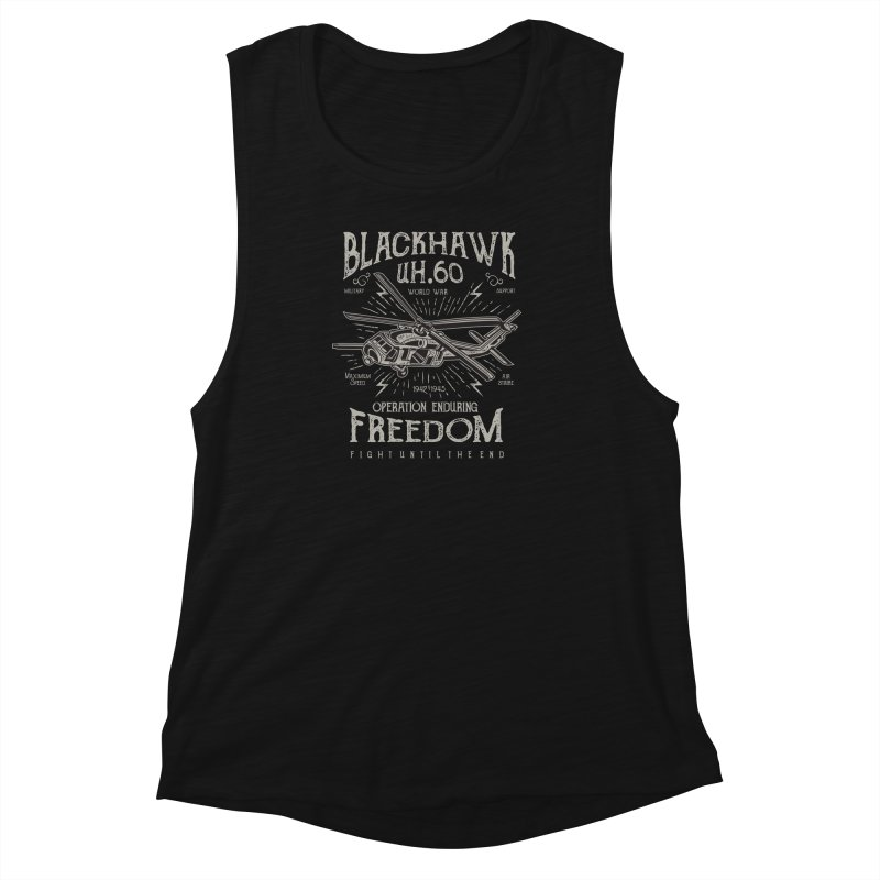 Blackhawk Freedom Women's Muscle Tank by Southern Creative
