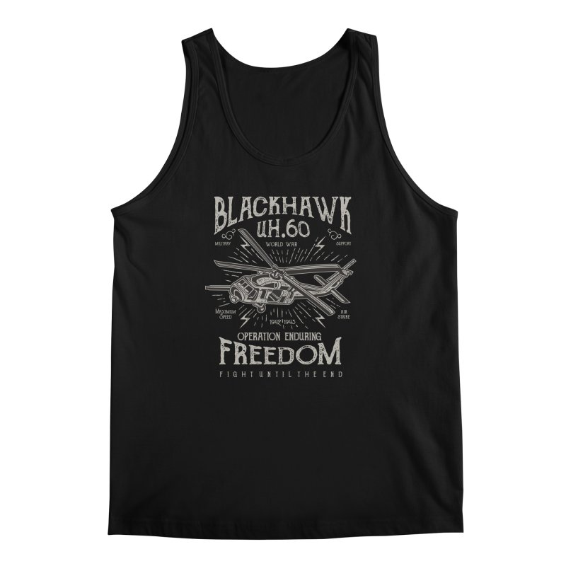 Blackhawk Freedom Men's Regular Tank by Southern Creative
