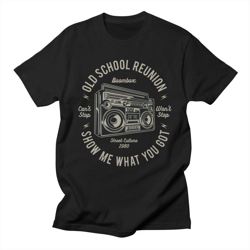 Boombox Men's Regular T-Shirt by Southern Creative
