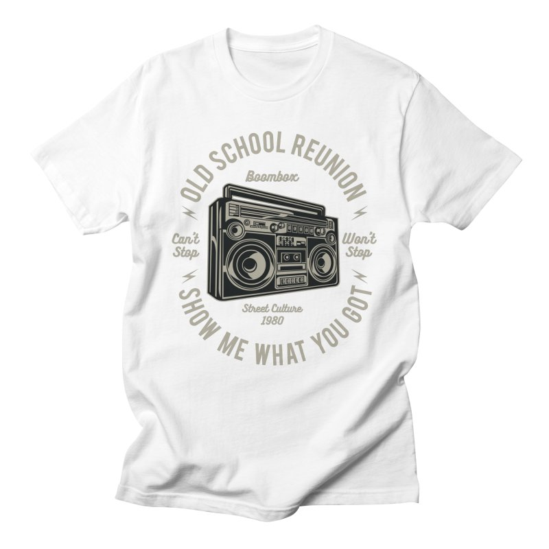 Boombox Men's Regular T-Shirt by Southern Creative