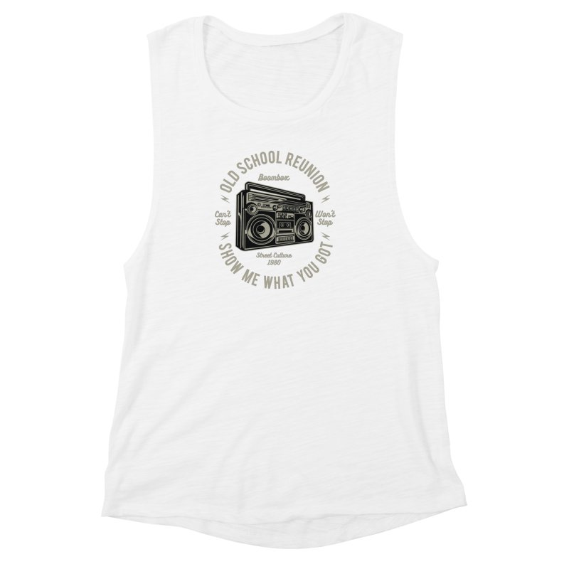 Boombox Women's Muscle Tank by Southern Creative