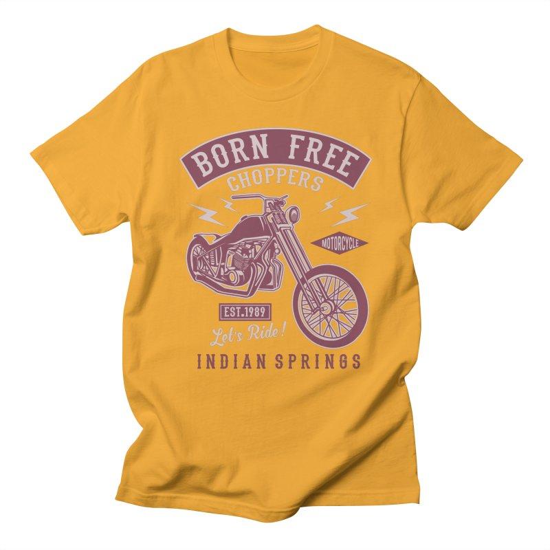 Born Free Men's Regular T-Shirt by Southern Creative