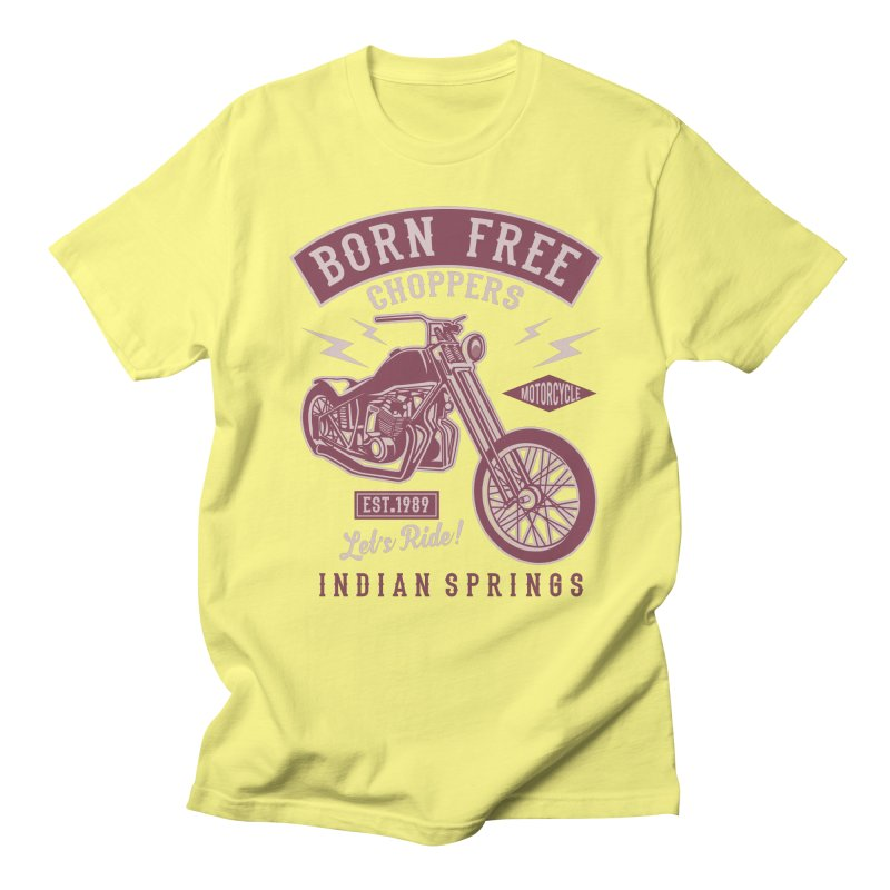 Born Free Men's Regular T-Shirt by Southern Creative