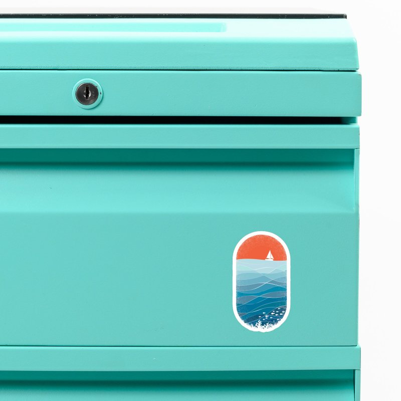 Le grand bleu (The big blue) Accessories Magnet by YANMOS