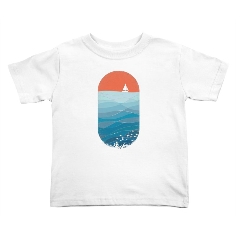 Le grand bleu (The big blue) Kids Toddler T-Shirt by YANMOS