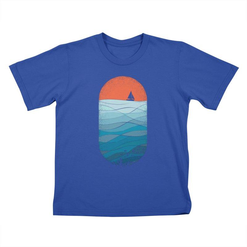 Le grand bleu (The big blue) Kids T-Shirt by YANMOS