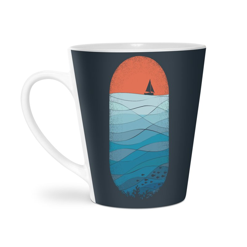 Le grand bleu (The big blue) Accessories Mug by YANMOS