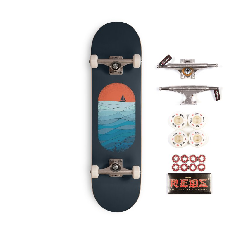 Le grand bleu (The big blue) Accessories Skateboard by YANMOS