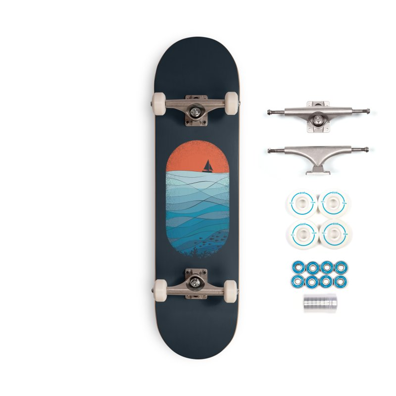 Le grand bleu (The big blue) Accessories Complete - Basic Skateboard by YANMOS
