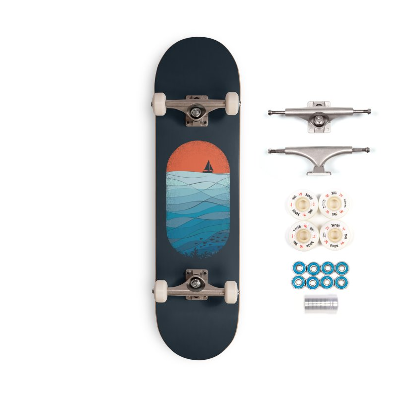 Le grand bleu (The big blue) Accessories Complete - Premium Skateboard by YANMOS