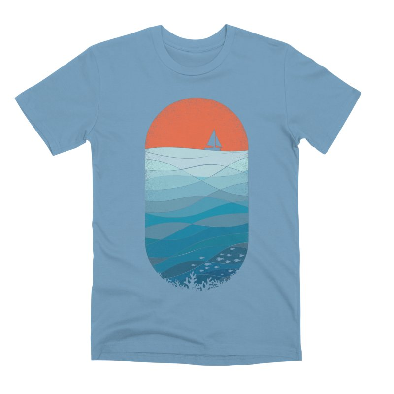 Le grand bleu (The big blue) Men's Premium T-Shirt by YANMOS