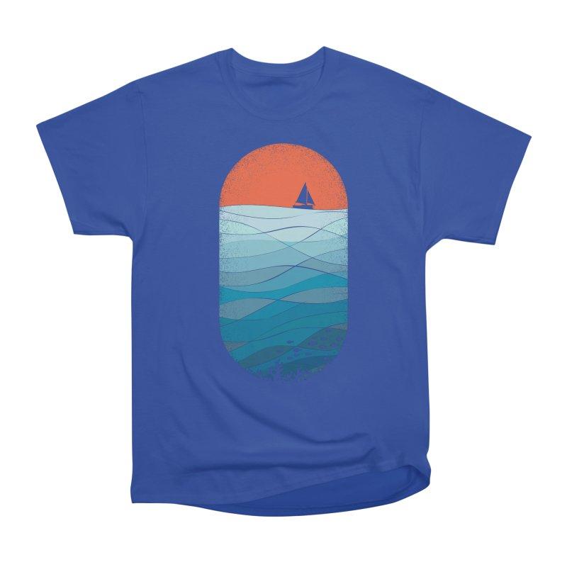 Le grand bleu (The big blue) Women's Heavyweight Unisex T-Shirt by YANMOS