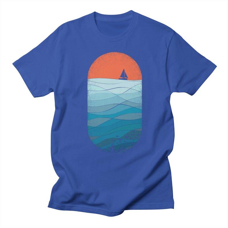 Le grand bleu (The big blue) Men's T-Shirt by YANMOS