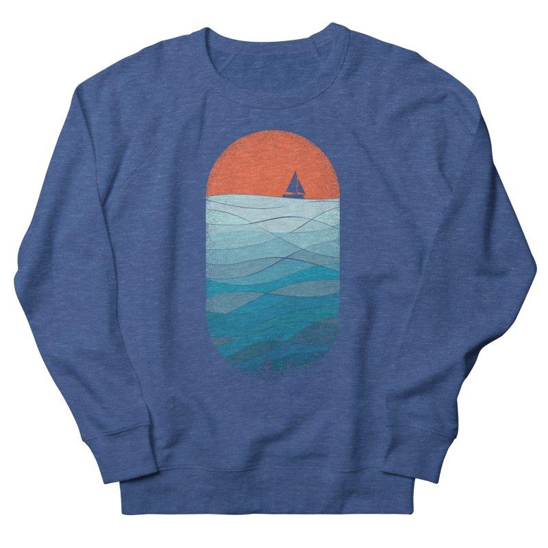 Le grand bleu (The big blue) Women's French Terry Sweatshirt by YANMOS