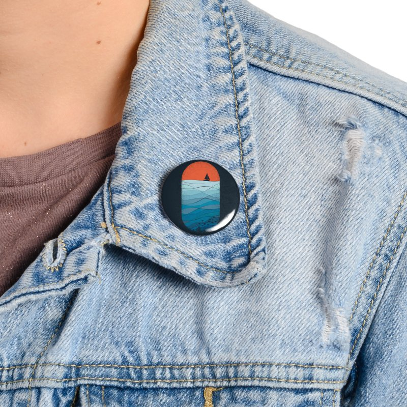 Le grand bleu (The big blue) Accessories Button by YANMOS
