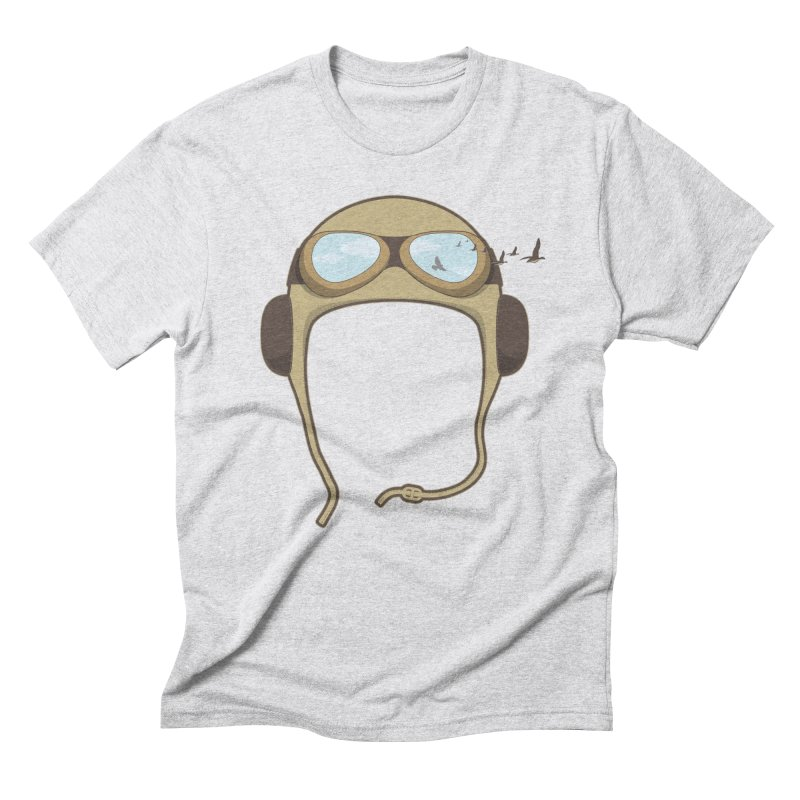 Flying Men's Triblend T-shirt by Yanmos's Artist Shop