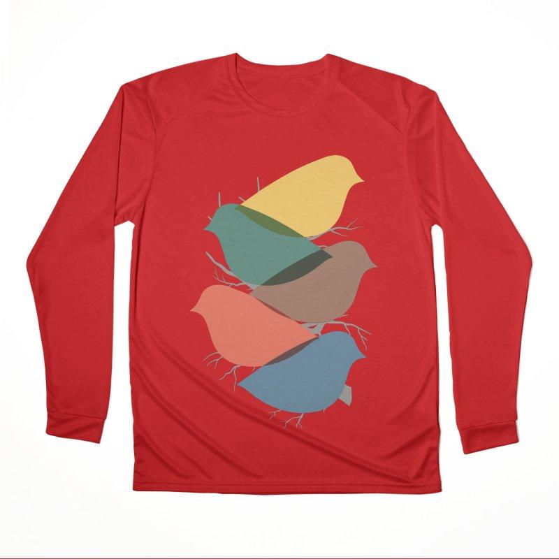 Simplify Men's Performance Longsleeve T-Shirt by YANMOS