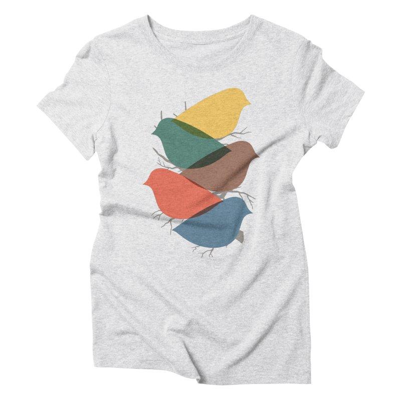 Simplify Women's Triblend T-Shirt by YANMOS