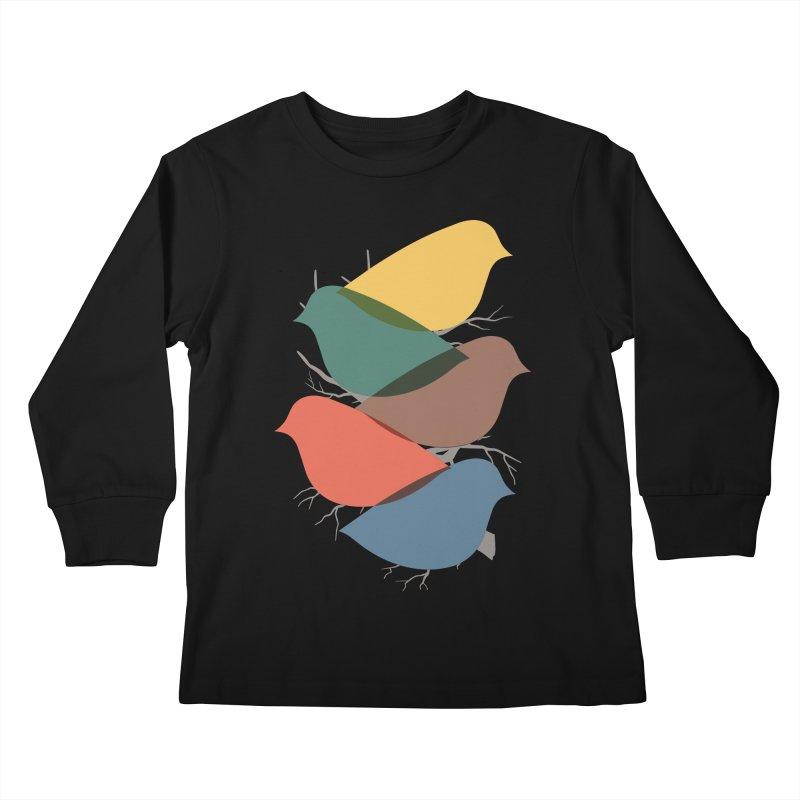 Simplify Kids Longsleeve T-Shirt by YANMOS
