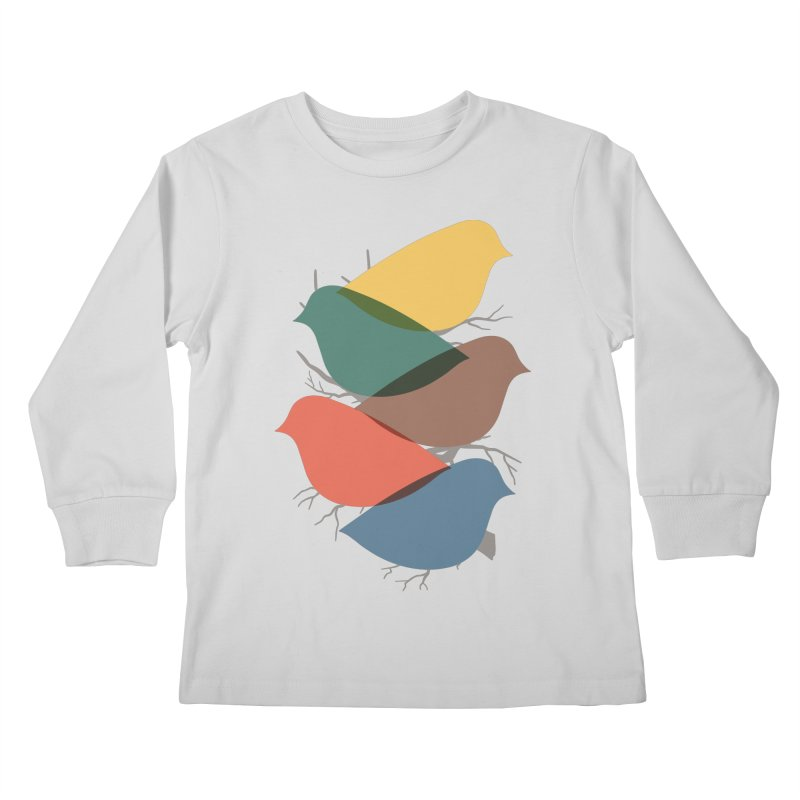 Simplify Kids Longsleeve T-Shirt by YANMOS