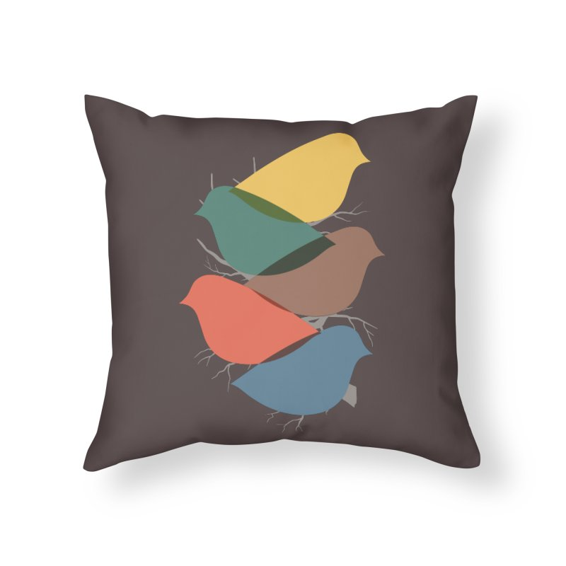 Simplify Home Throw Pillow by YANMOS