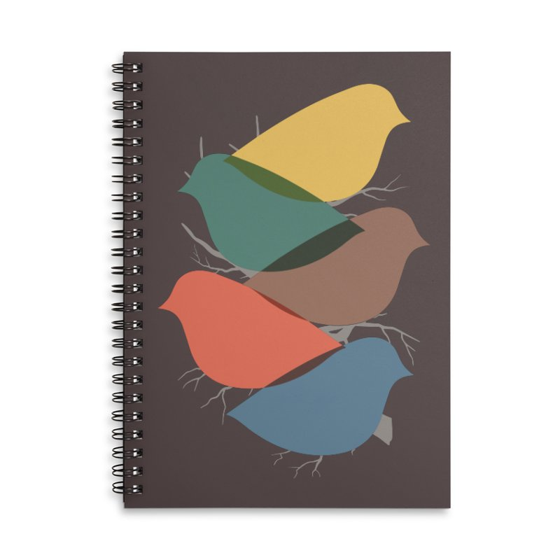 Simplify Accessories Lined Spiral Notebook by YANMOS